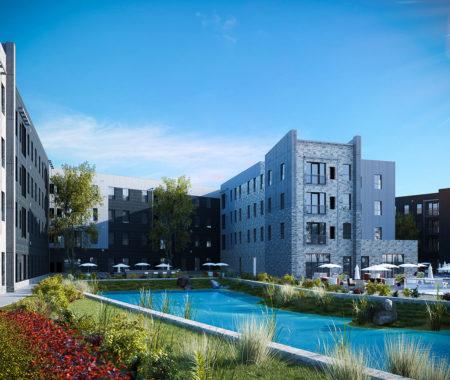 Student-Housing Project Near University at Buffalo